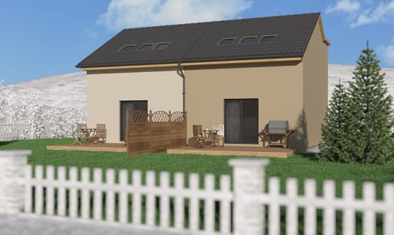 Dům se dvěma byty A