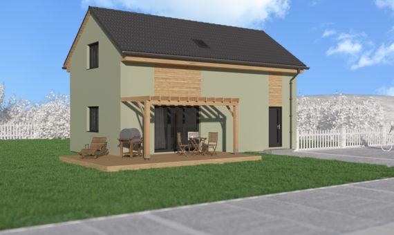 Dům s podkrovím A+